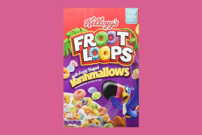 Froot Loops Marshmallow Cereal: 48.3 Percent Sugar
