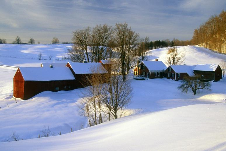 9 most romantic winter vacations slideshow for Winter vacations in the us