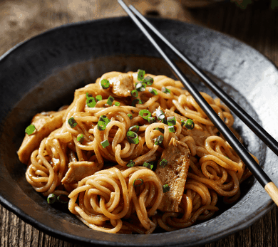 Annie Chun's Beef, Mushroom and Noodle Stir Fry