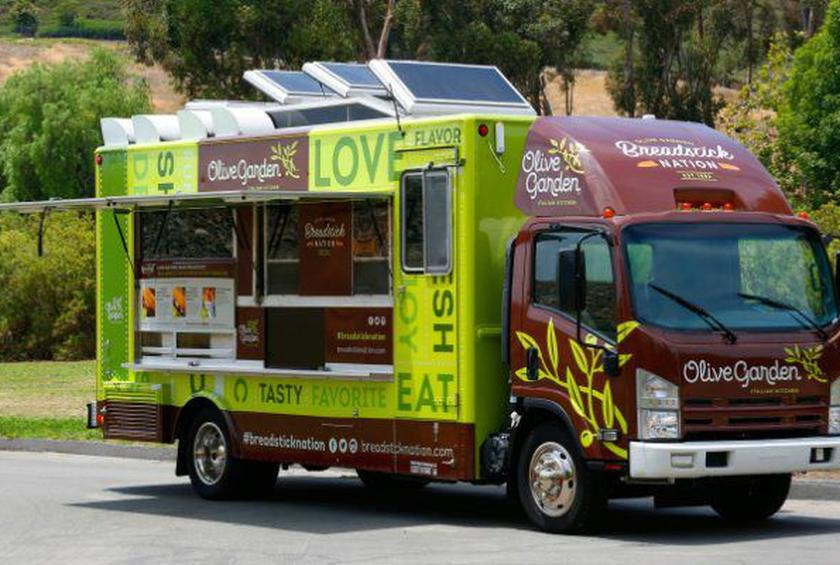 olive garden is entering the food truck business starting this month in new york city - Olive Garden New York