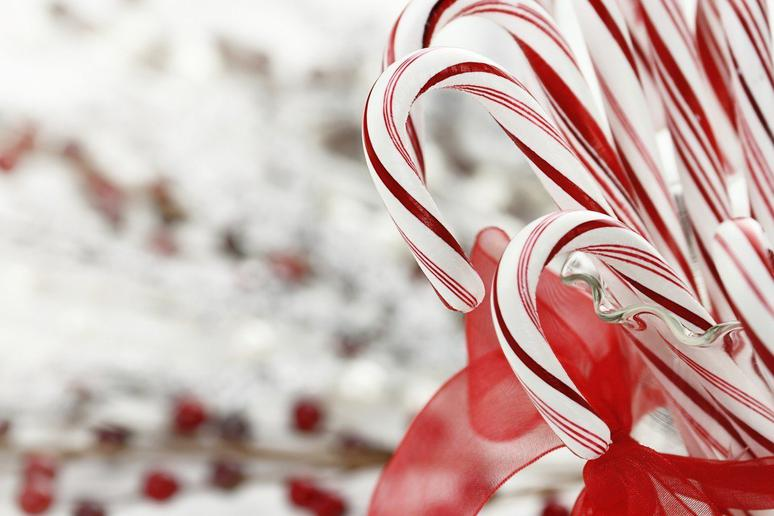 Most Candy Canes Contain Only 50 Calories