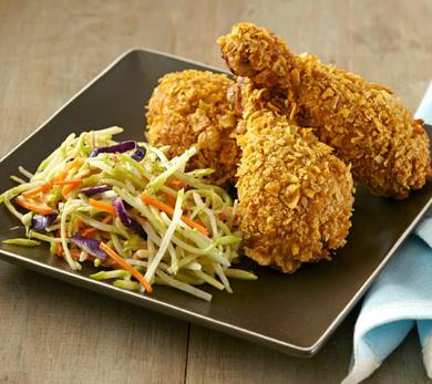 Wheat Germ Oven-Fried Chicken