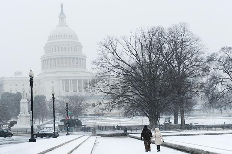 Washington, D.C.: Winter Igloos (Foggy Bottom)