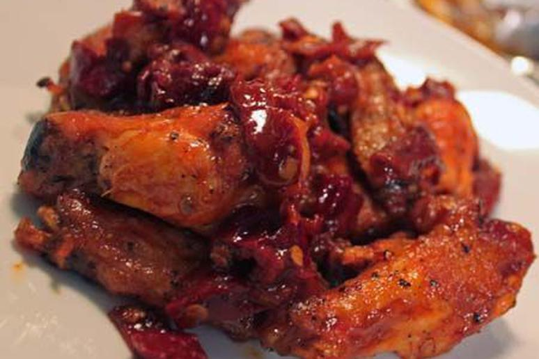 Chipotle-Honey Wings