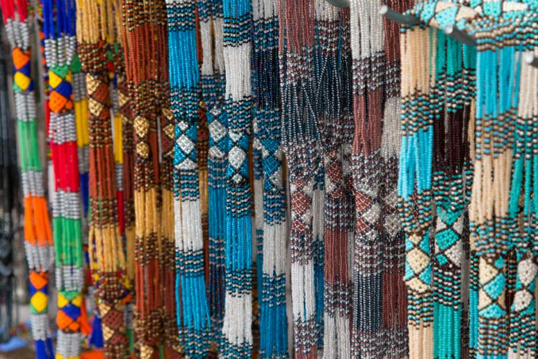 Bead work from Cape Town