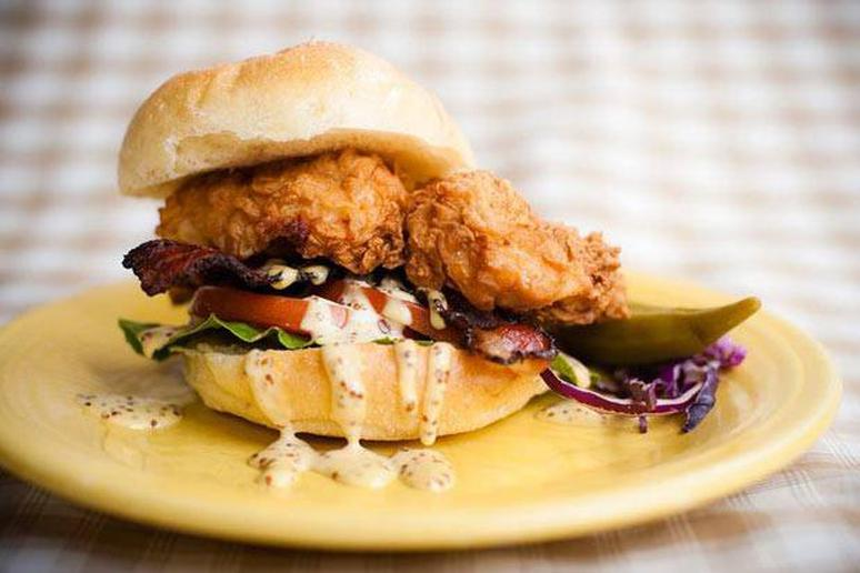 Southern Fried Chicken BLT Recipe