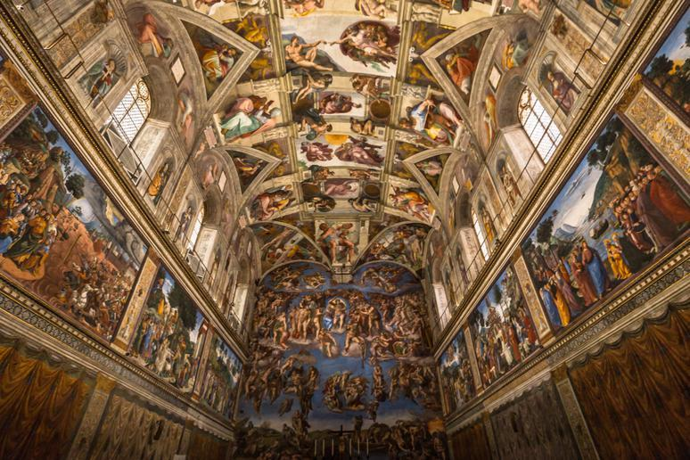 Seeing the Sistine Chapel in Vatican City