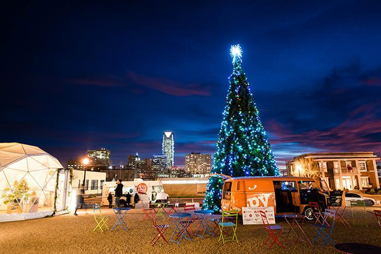 Oklahoma: Downtown in December (Oklahoma City)