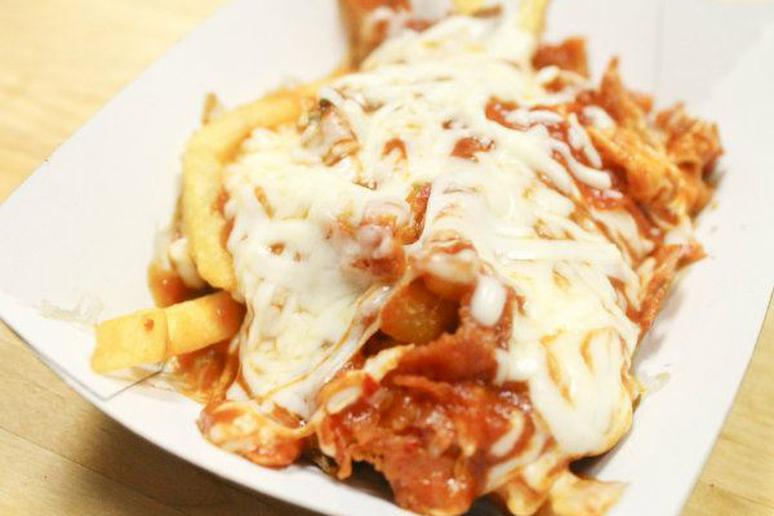 Simple Pizza Fries