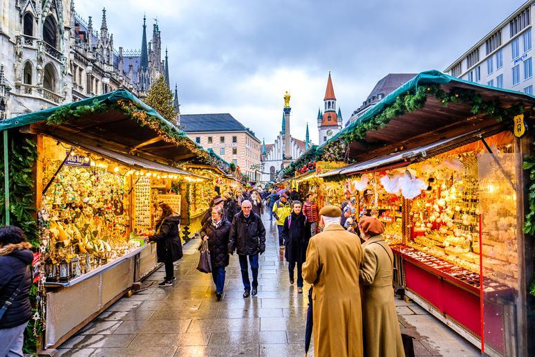 Spend Christmas perusing markets in Germany