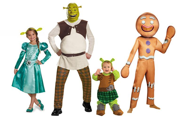 shrek this enchanted fairy tale makes perfect halloween costume for your entire family