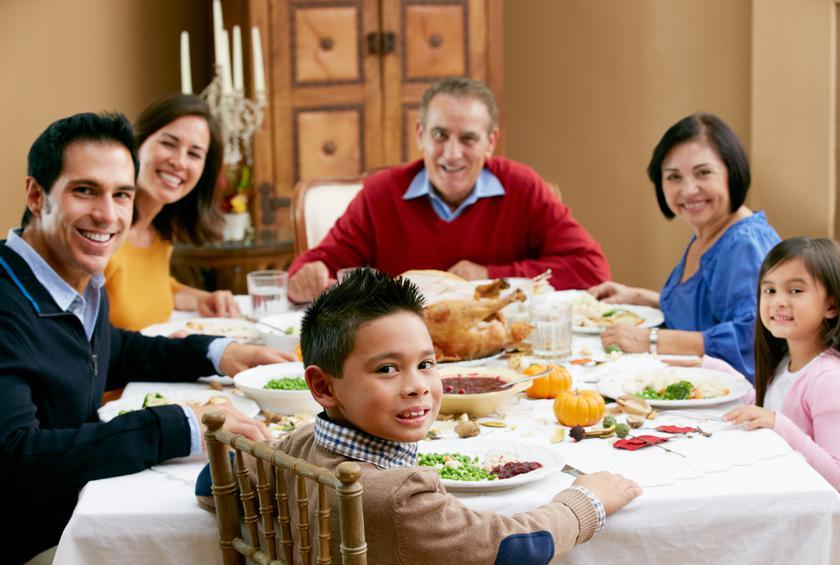 What Your Seat At The Thanksgiving Table Says About You