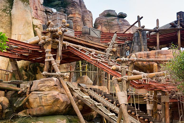 Camp Discovery – Challenge Trails — Shanghai Disneyland