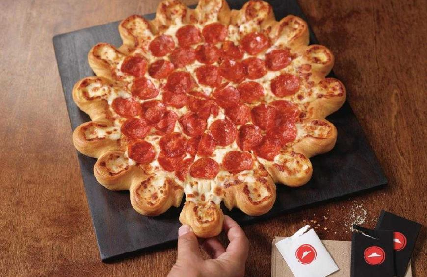 Pizza Hut S Ultimate Cheesy Crust Pizza Is Back For A