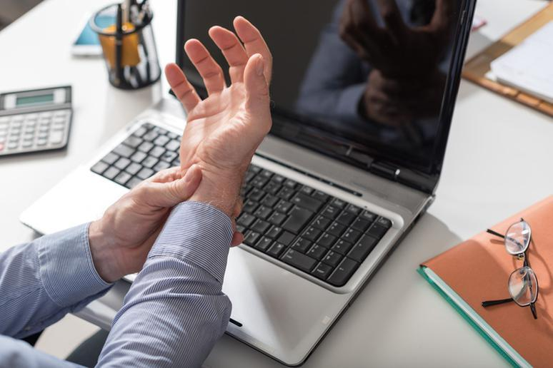 Typing too much can give you carpal tunnel syndrome