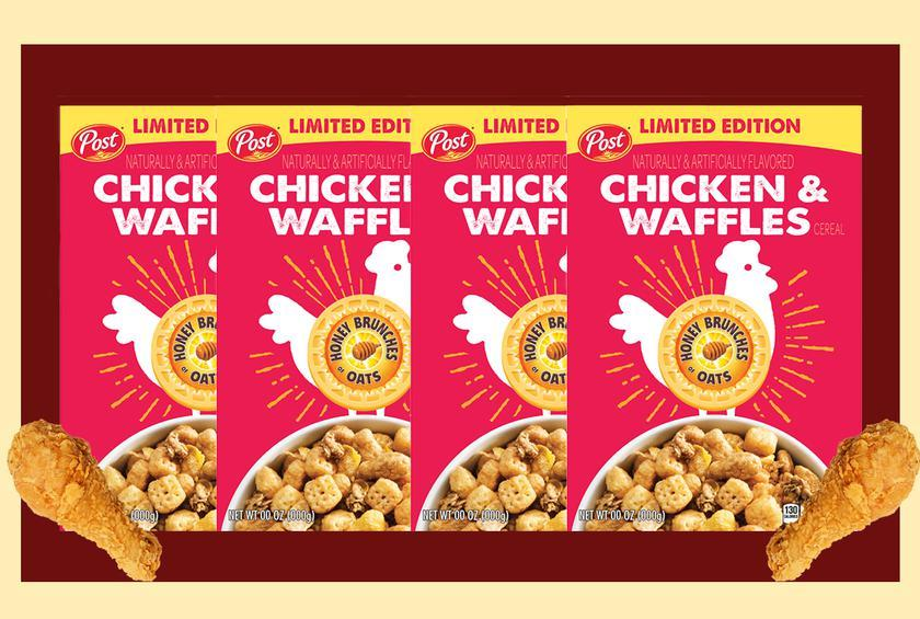 Chicken And Waffles Cereal Is Coming Exclusively To Walmart