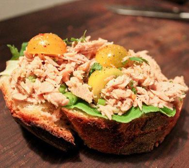 Canned Tuna Sandwich