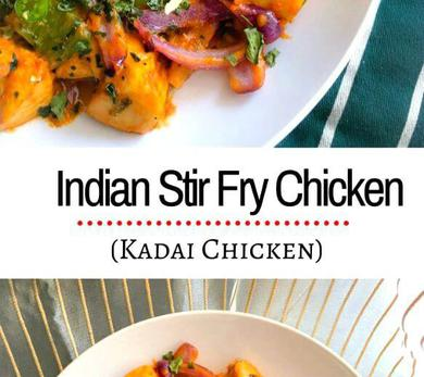 Indian stir fry chicken