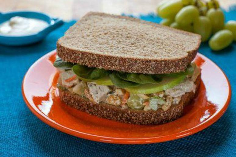 Fast 'N Fresh Curried Chicken Salad Sandwich