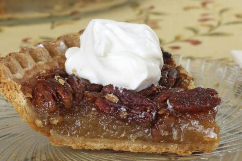 Maple Bourbon Bacon Pecan Pie