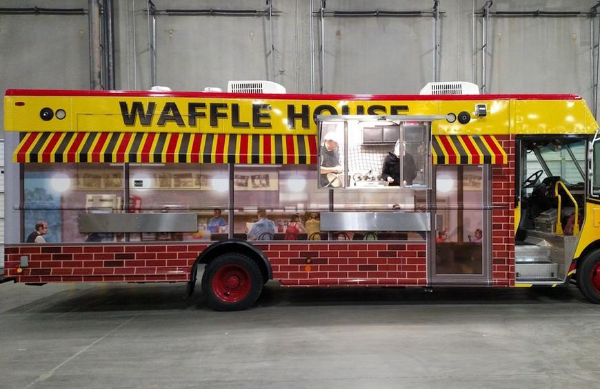 Waffle House S New Food Truck Can Cater All Your Events