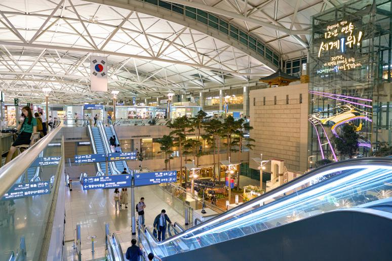 4. Incheon International Airport, Seoul, South Korea