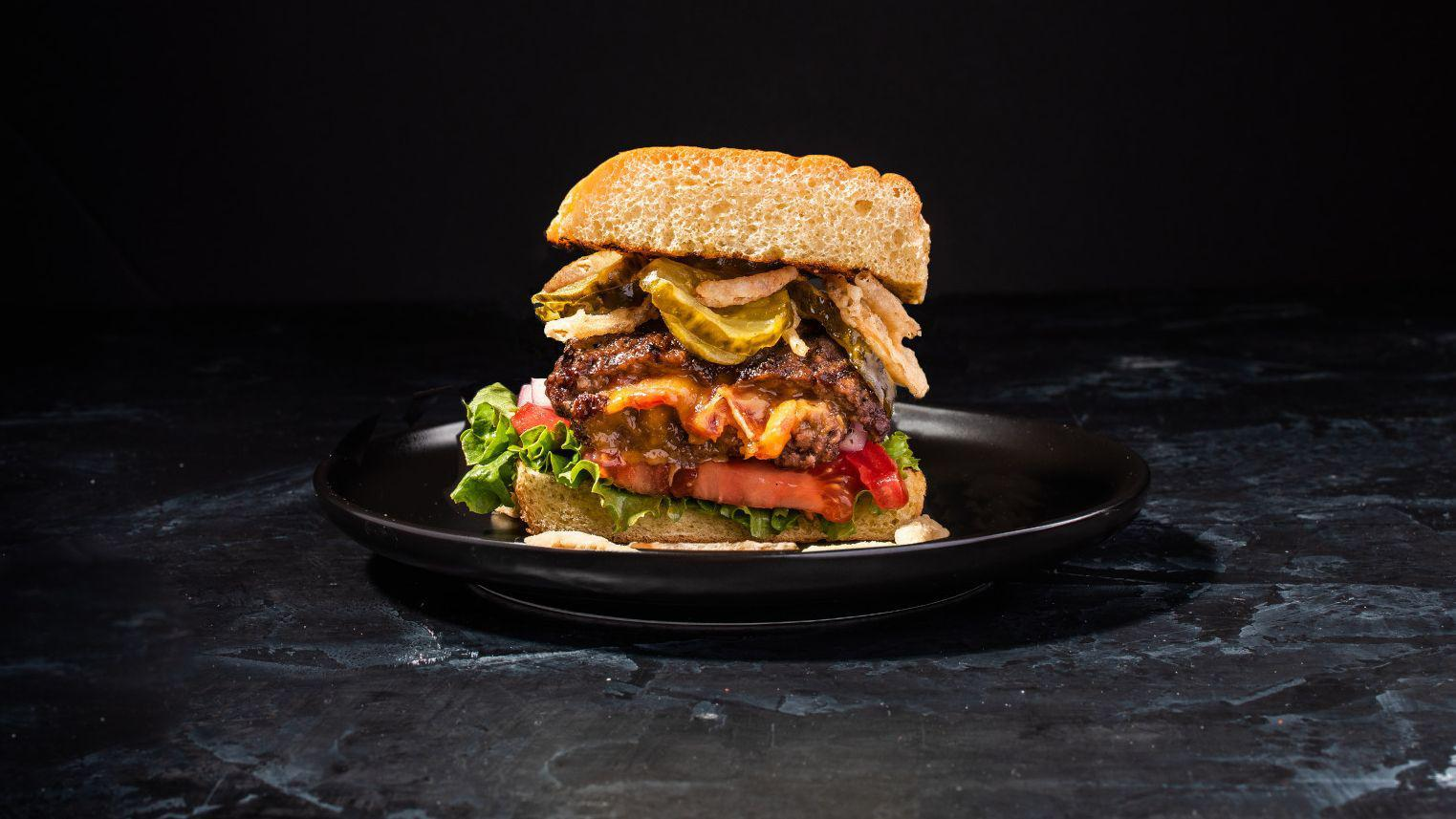Bacon And Cheese Stuffed Burgers Recipe By Noah Mcgee