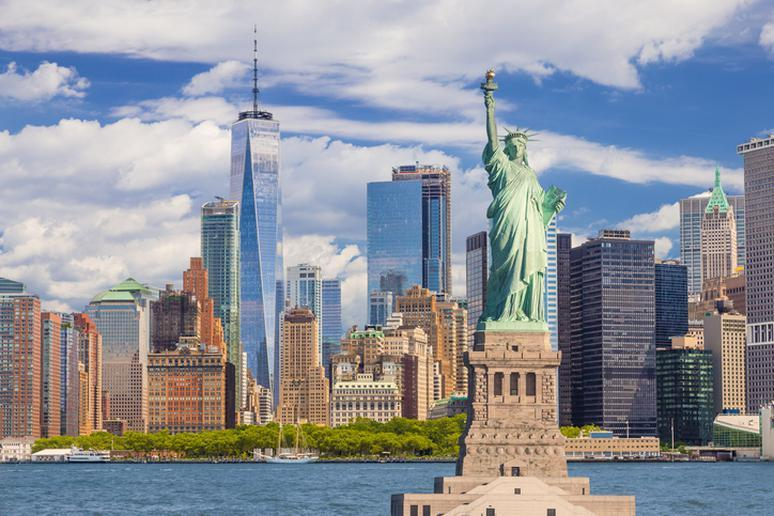 The Statue of Liberty — New York, New York