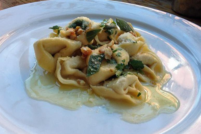 Pumpkin Tortellini with Brown Butter and Sage