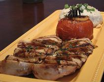 Grilled chicken entree