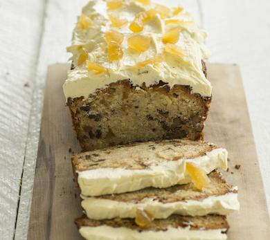 Parsnip and Ginger Cake