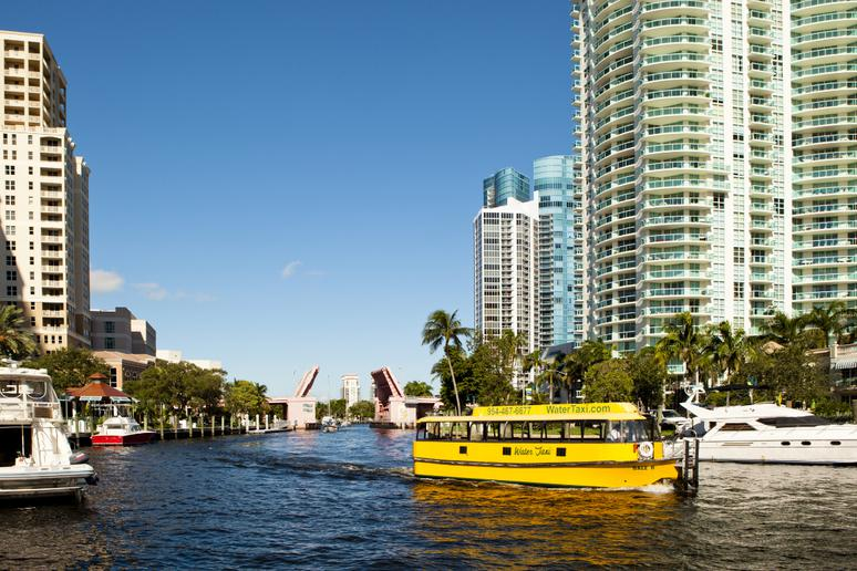 Water Taxi in Ft. Lauderdale