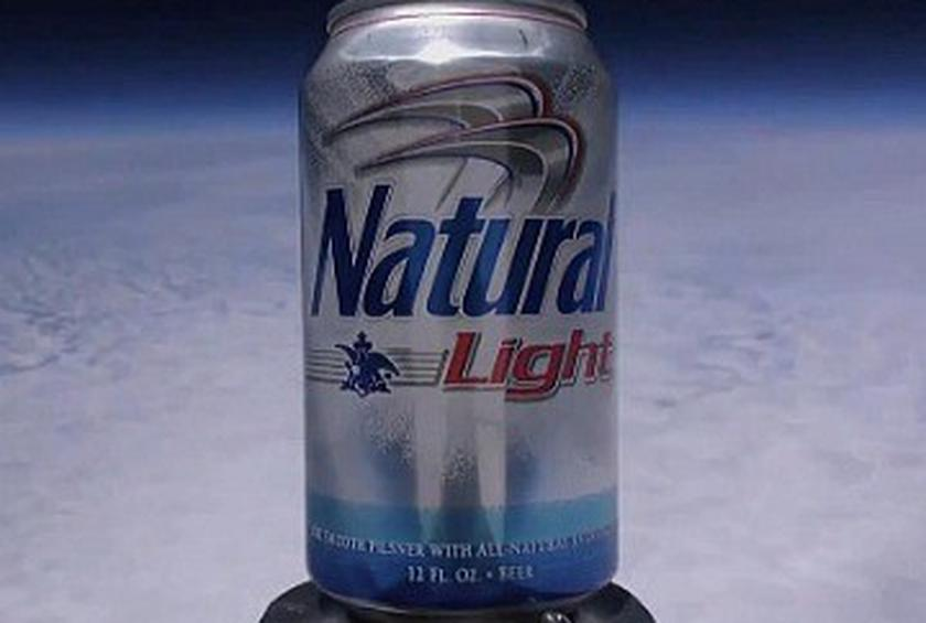 Natty Light Is the First Beer in Space