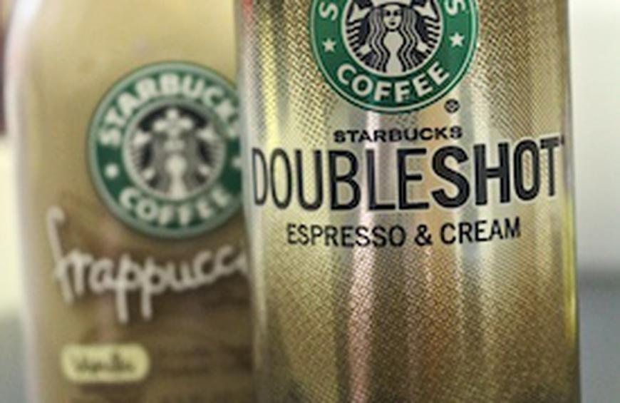 Coffee Starbucks Doubleshot Espresso And Cream From 9