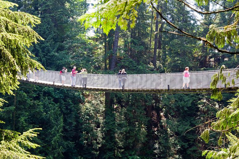 Capilano Suspension Bridge, Vancouver, Canada