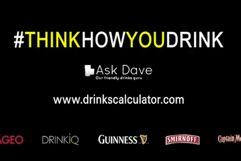 Think Before You Drink campaign