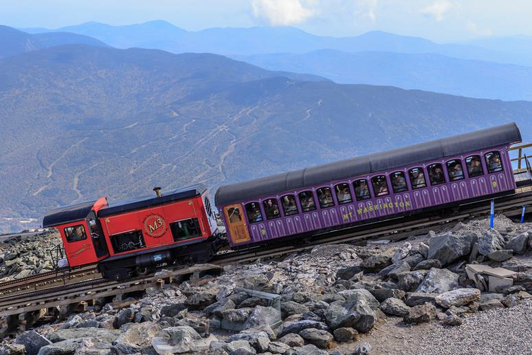 New Hampshire: Mt. Washington Cog Railway