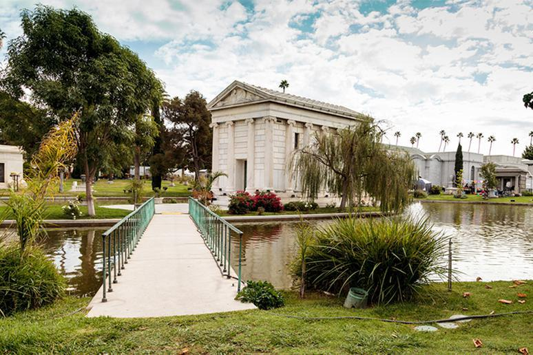 Hollywood Forever Cemetery in Hollywood, California