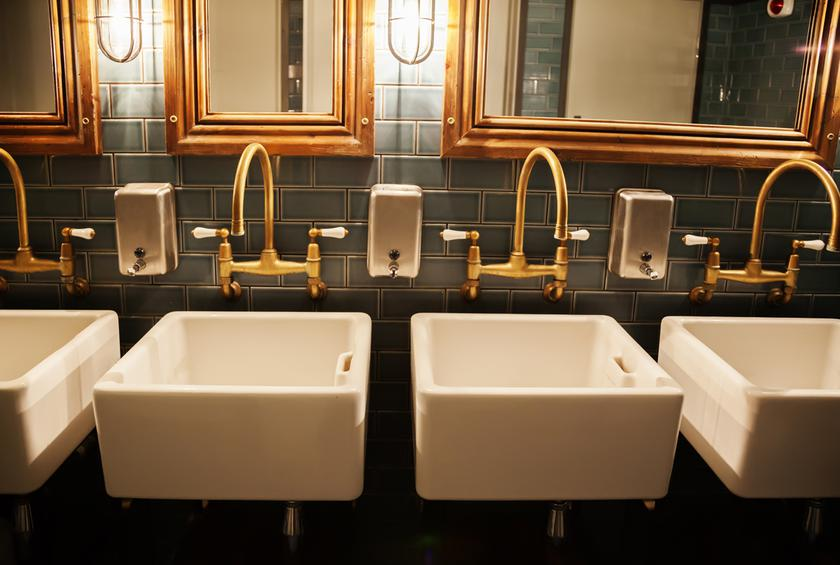 10 Things We Bet You Never Realized About Restaurant Bathrooms