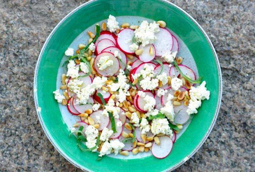 Radish and Feta Salad