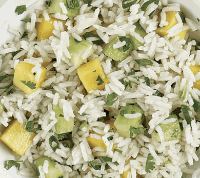 The Real Co Earth Day Basmati Rice Pilaf