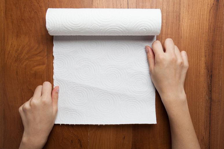 Line Drawers With Paper Towels