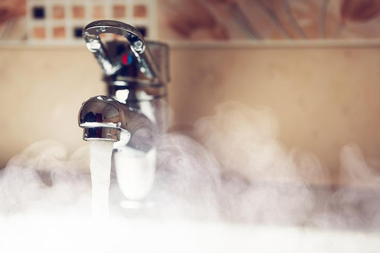 It takes 3 seconds of exposure to hot water for a third-degree burn