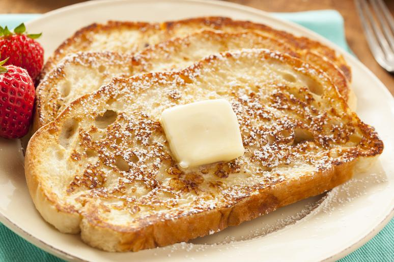 Slow Cooker Cinnamon French Toast