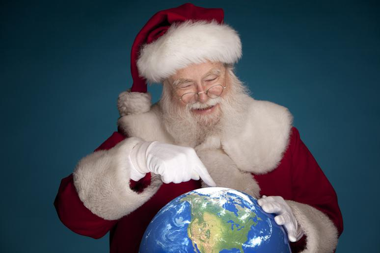4. Why Santa lives there is unknown