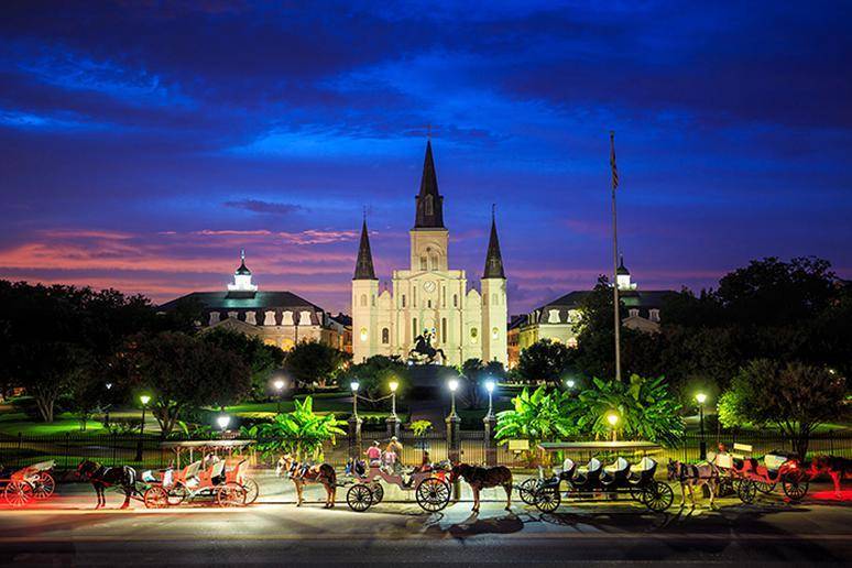 Louisiana: Jackson Square (New Orleans)