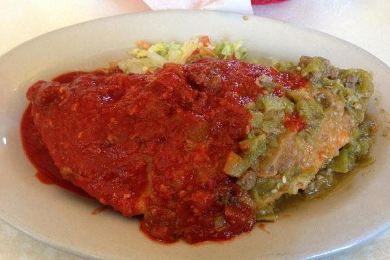 23) Mary and Tito's Café, Albuquerque, N.M.: Carne Adovada