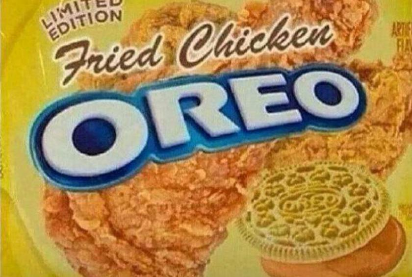 Sadly, Fried Chicken Oreos Are Not a Real Thing