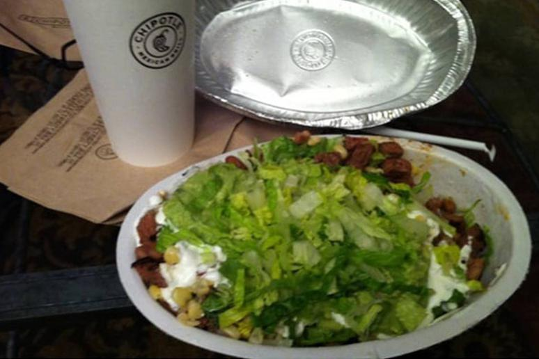Chipotle Mexican Grill: Steak Salad