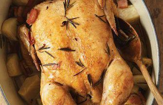 Pot-Roasted Chicken